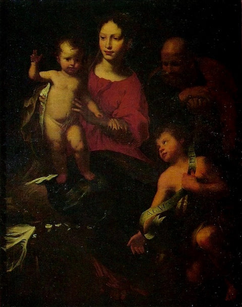 Holy Family with St. John the Baptist