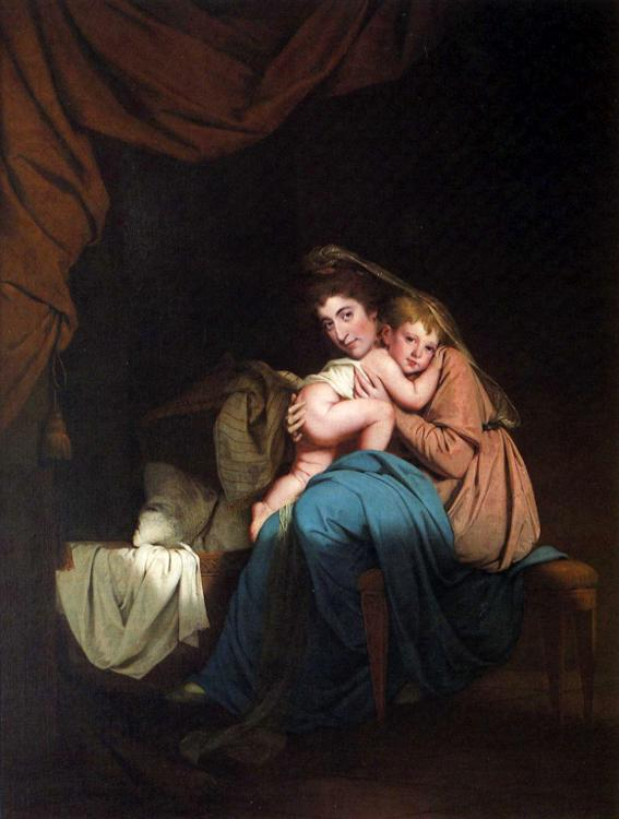 Lady Wilmot and Her Child