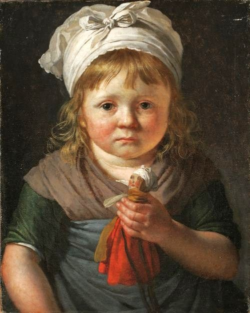 Little Peasant Girl with a Doll