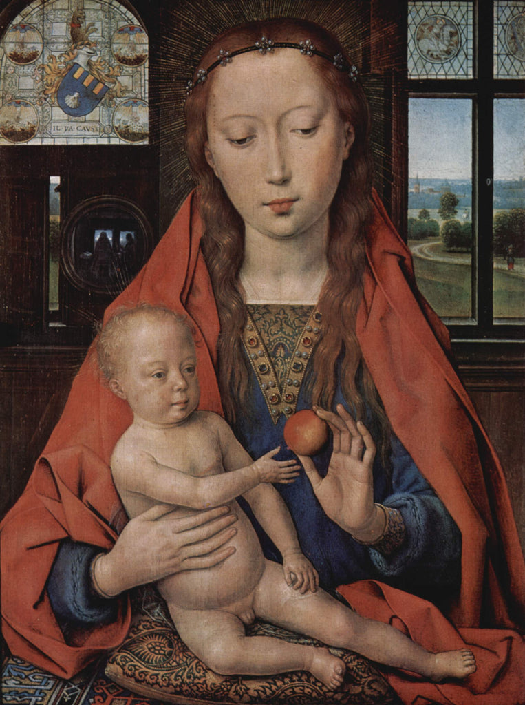 Madonna and Child, from The Diptych of Maerten van Nieuwenhove