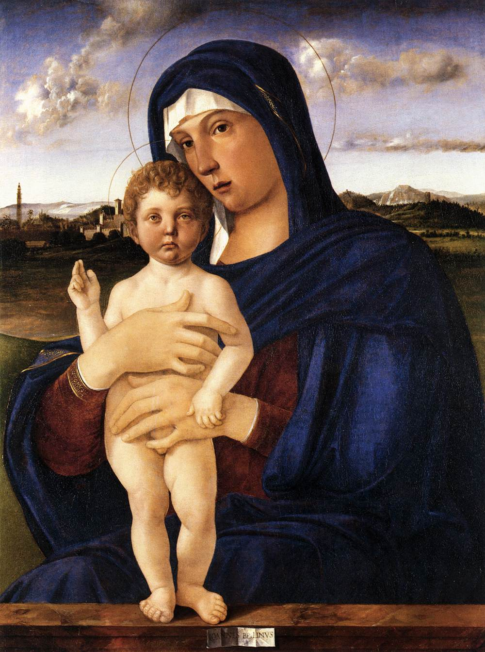 Madonna with Blessing Child