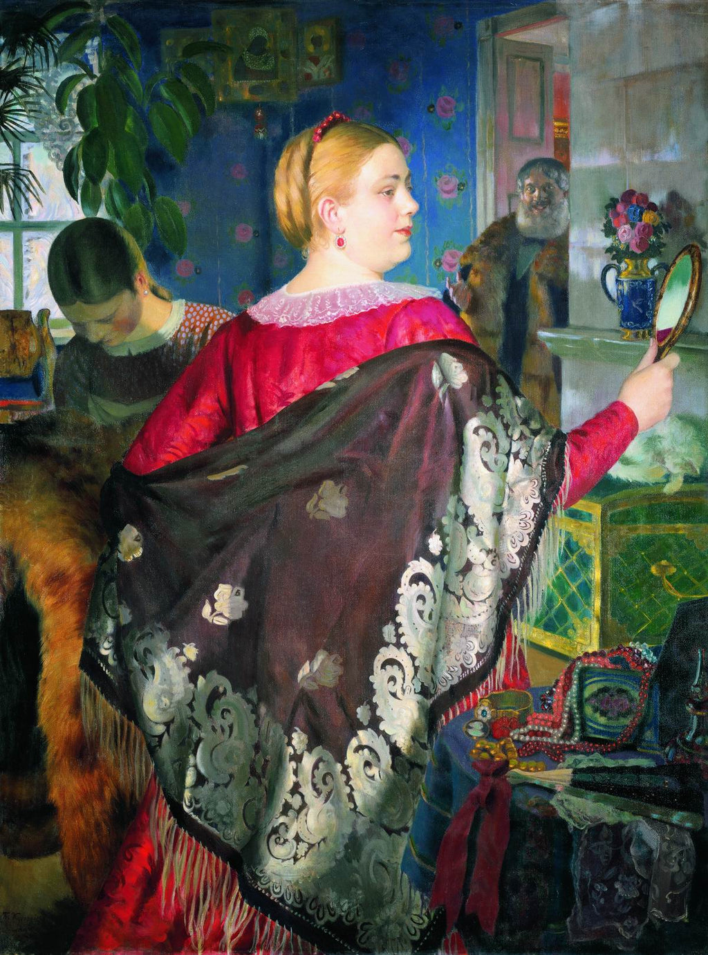 Merchant's Woman with a Mirror
