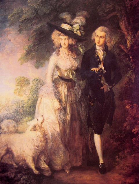 Mr. and Mrs. William Hallett (The Morning Walk)