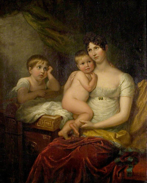 Mrs Thomas Hope with Her Sons