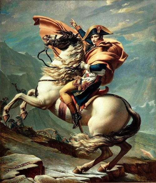 Napoleon Crossing the Alpes
