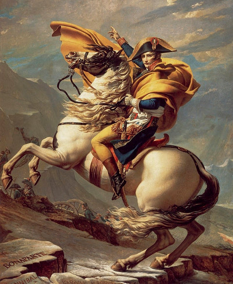 Napoleon at Saint-Bernard