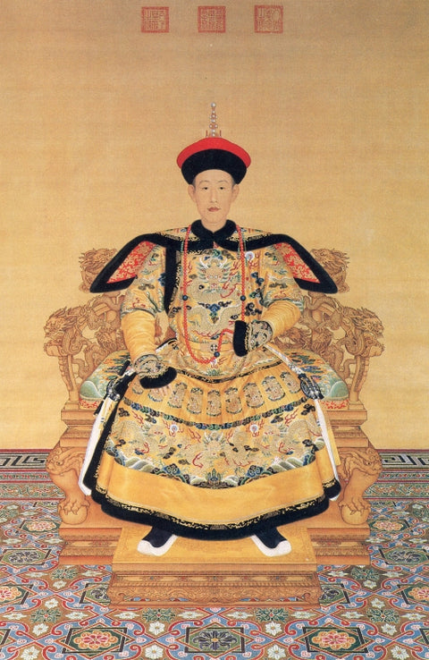 Official Court Portrait of Emperor Qianlong