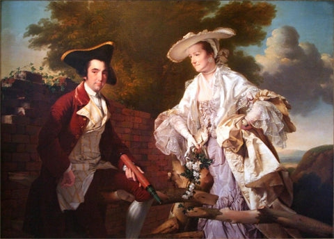 Peter Perez Burdett and his First Wife Hannah
