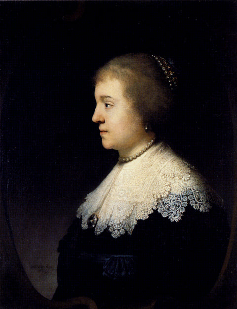 Portrait Of Amalia van Solms