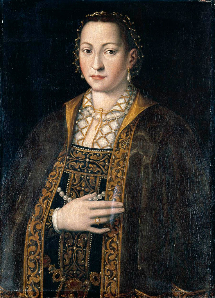 Portrait Of Eleanora Of Toledo