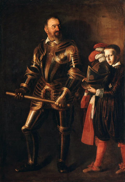 Portrait of Alof de Wignacourt and his Page