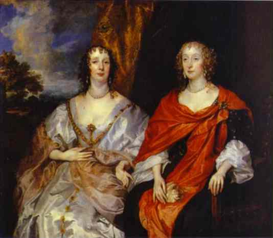 Portrait of Anna Dalkeith, Countess of Morton, and Lady Anna Kirk