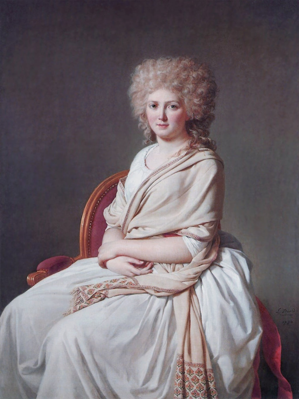 Portrait of Anne Marie Louise Thélusson, Countess of Sorcy