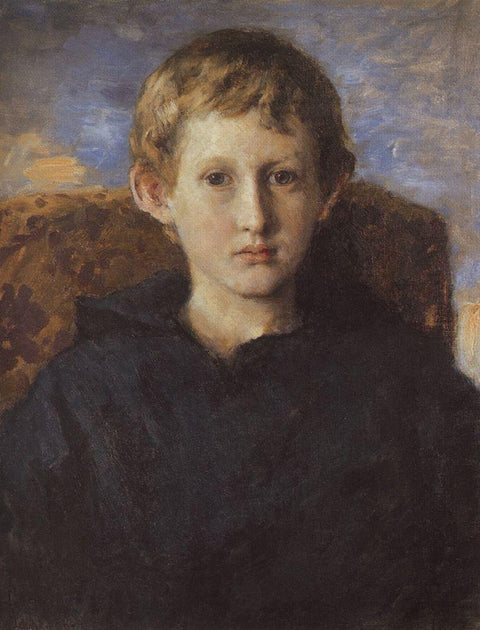 Portrait of Boris Vasnetsov, son of the artist