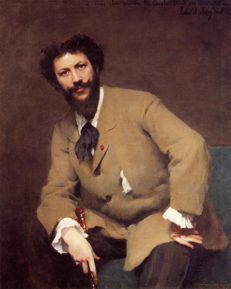Portrait of Carolus-Duran