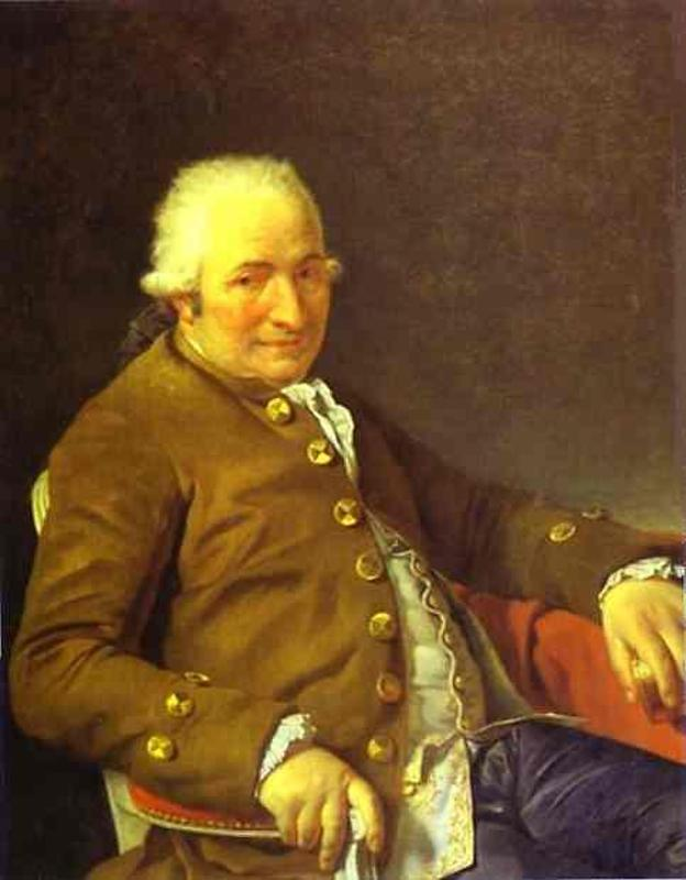Portrait of Charles-Pierre Pecoul