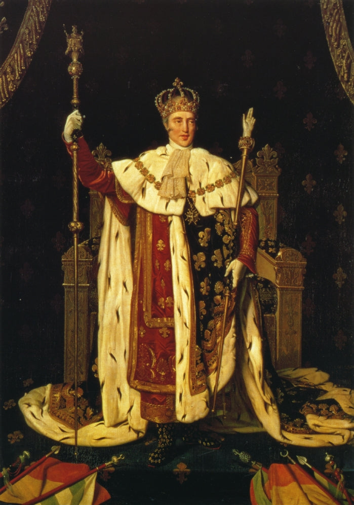 Portrait of Charles X in Coronation Robes
