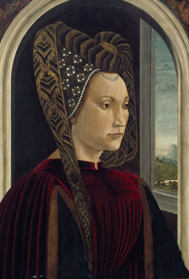 Portrait of Clarice Orsini, Wife of Lorenzo the Magnificent