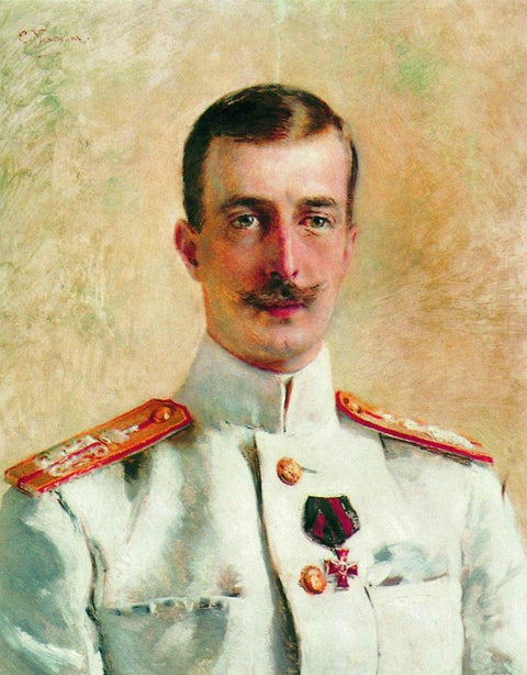 Portrait of Cyril Vladimirovich, Grand Duke of Russia