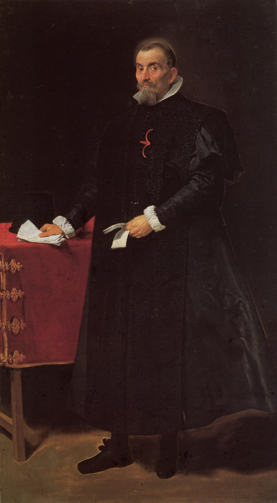 Portrait of Don Diego de Corral y Arellano