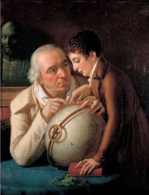 Portrait of Dr Trioson and his Son