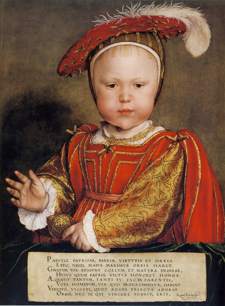 Portrait of Edward VI as a child