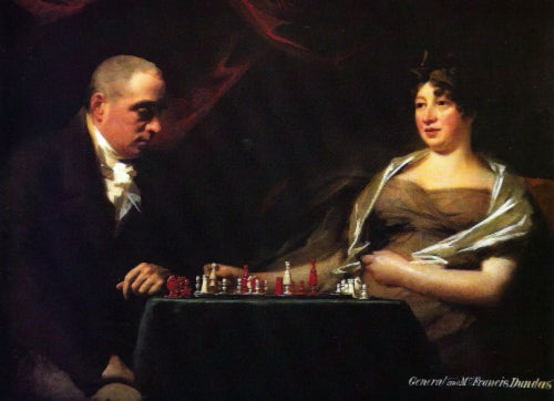 Portrait of Francis and his wife Eliza Dundas Cumming