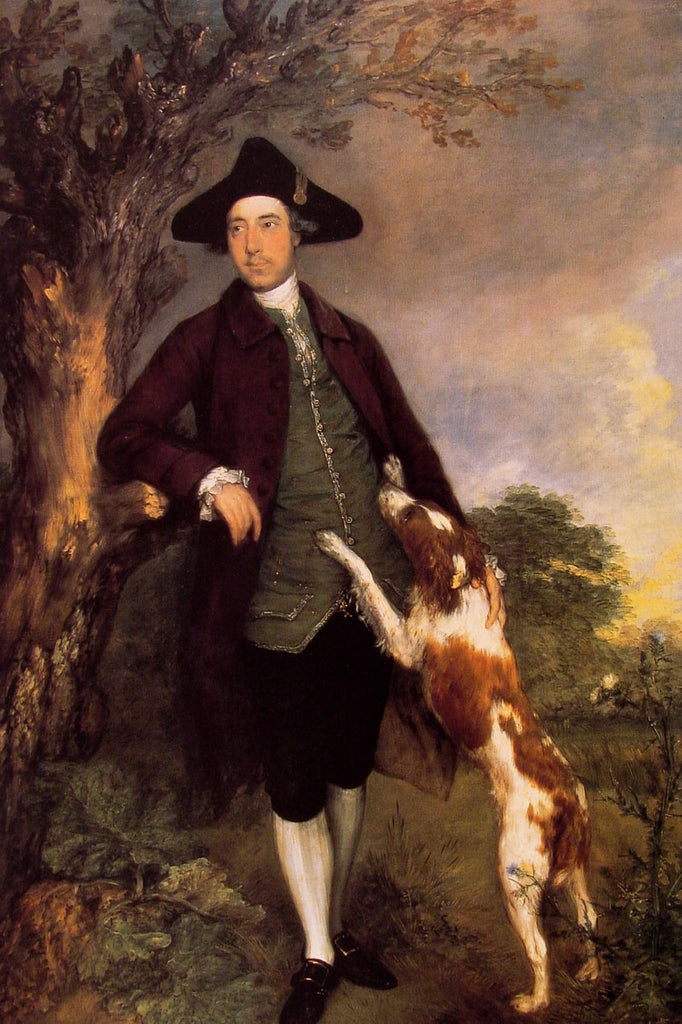 Portrait of George Venables Vernon, 2nd Lord Vernon