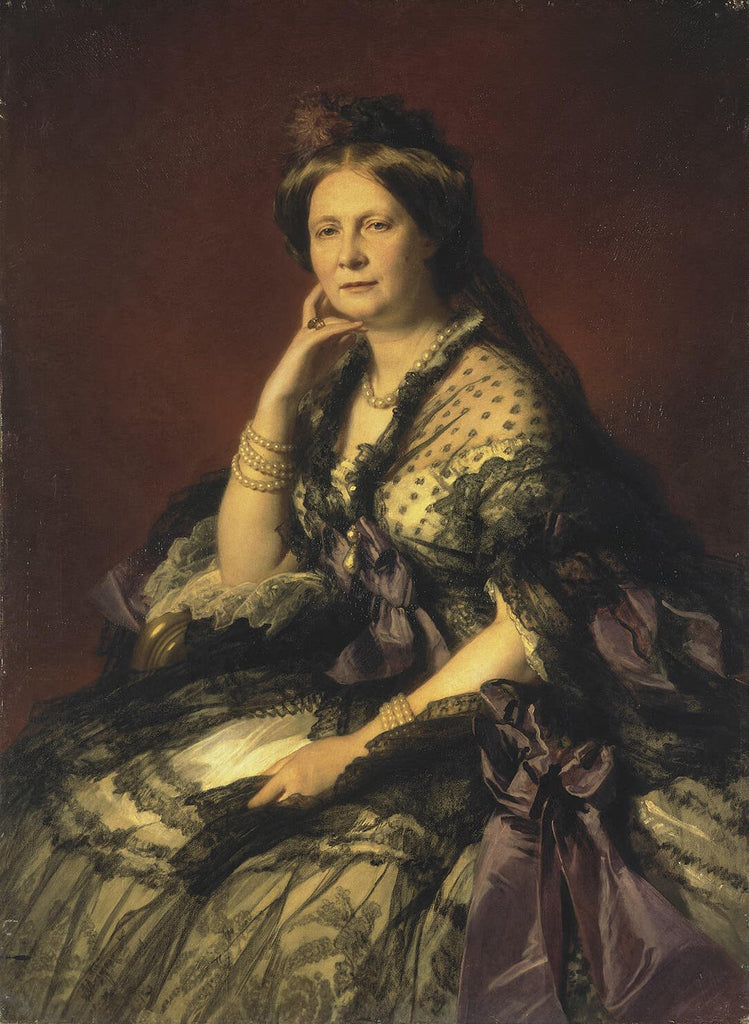 Portrait of Grand Princess Yelena Pavlovna