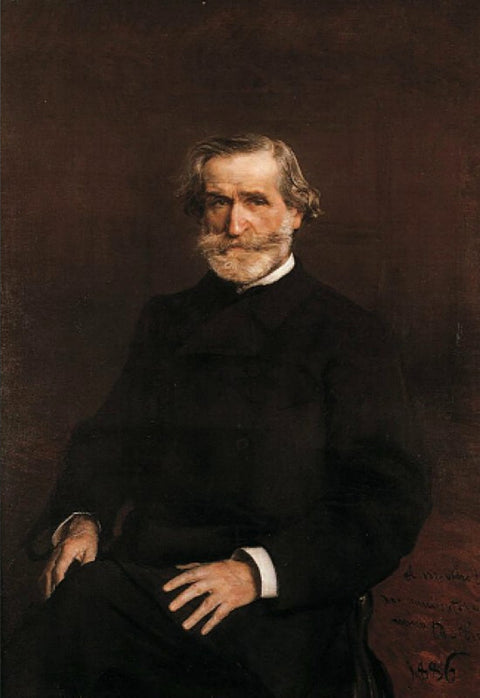 Portrait of Guiseppe Verdi I