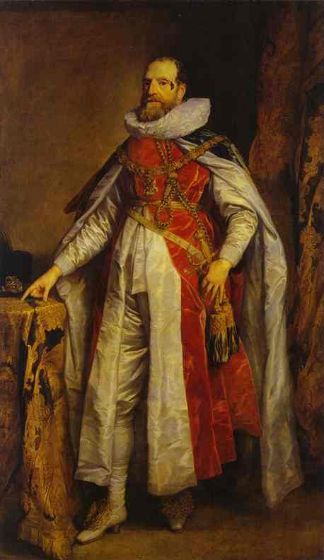 Portrait of Henry Danvers, Earl of Danby, as a Knight of the Order of the Garter
