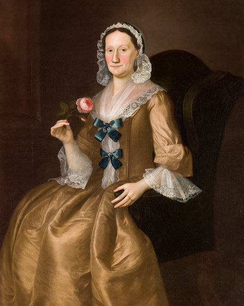 Portrait of Jane Lucus Brown, the wife of Captain John Brown