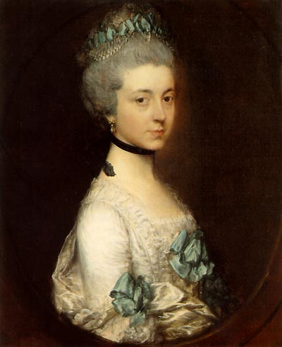 Portrait of Lady Elizabeth Montagu, Duchess of Buccleuch and Queensberry