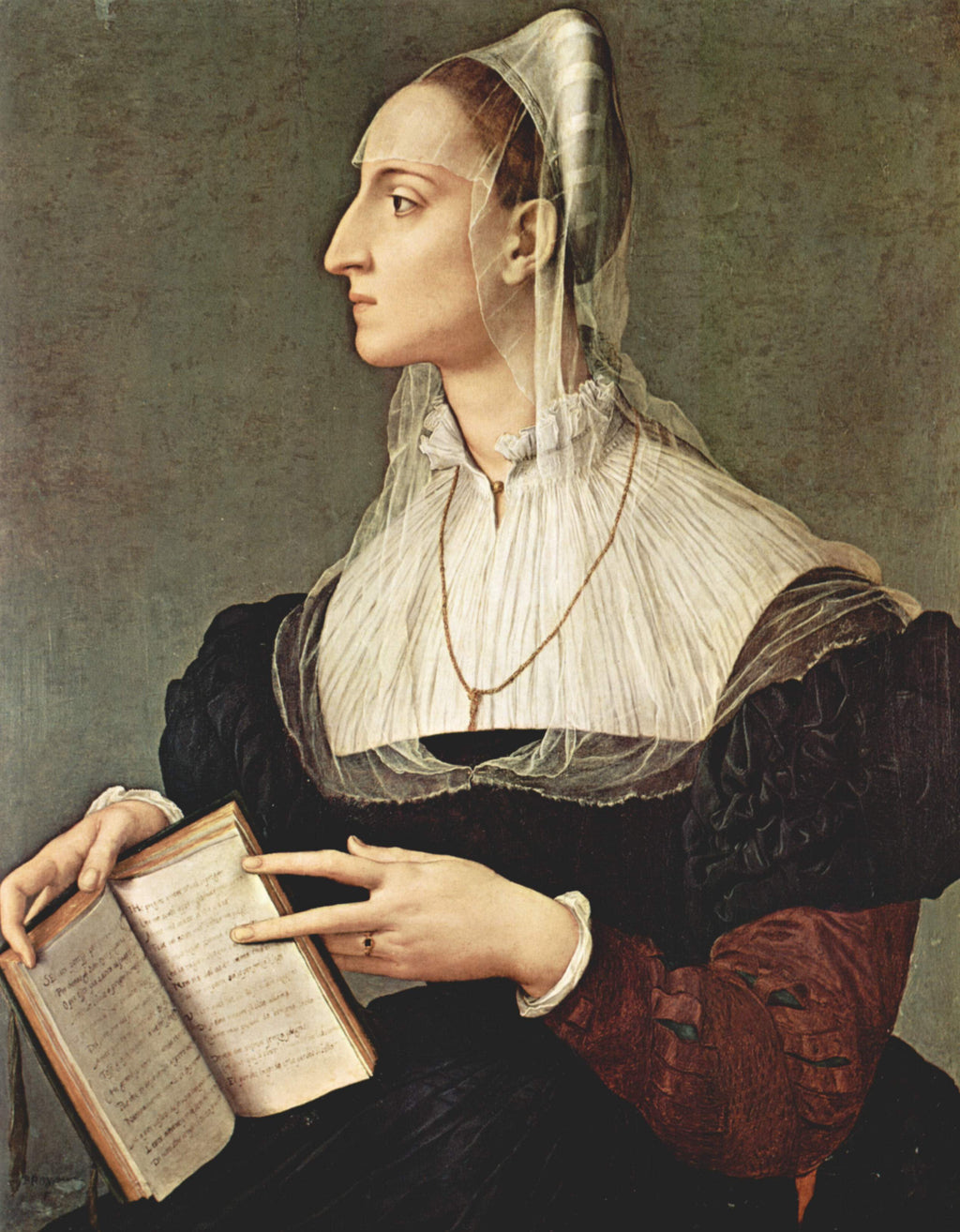Portrait of Laura Battiferri