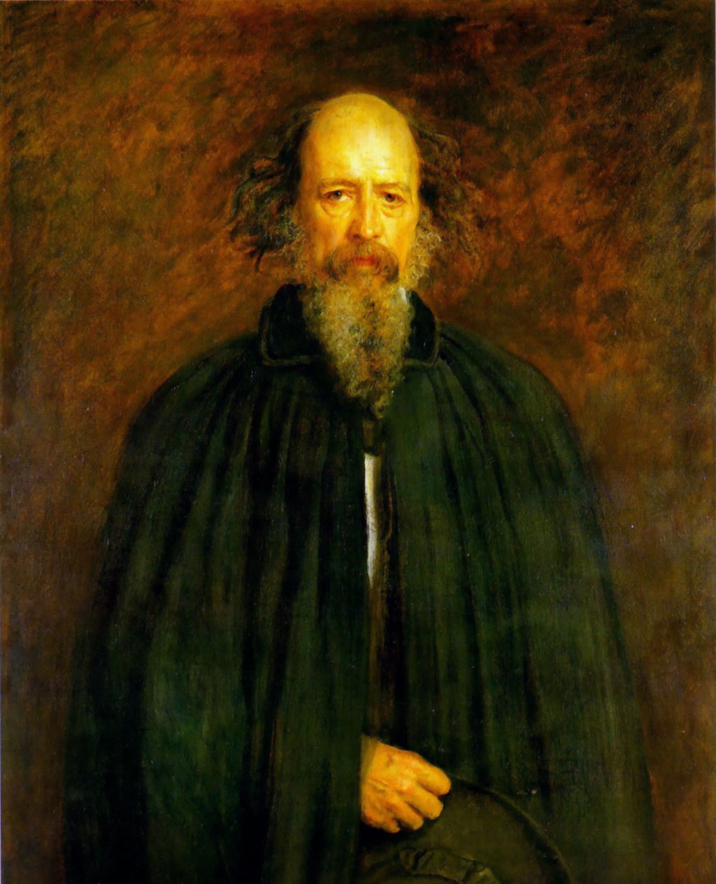 Portrait of Lord Alfred Tennyson