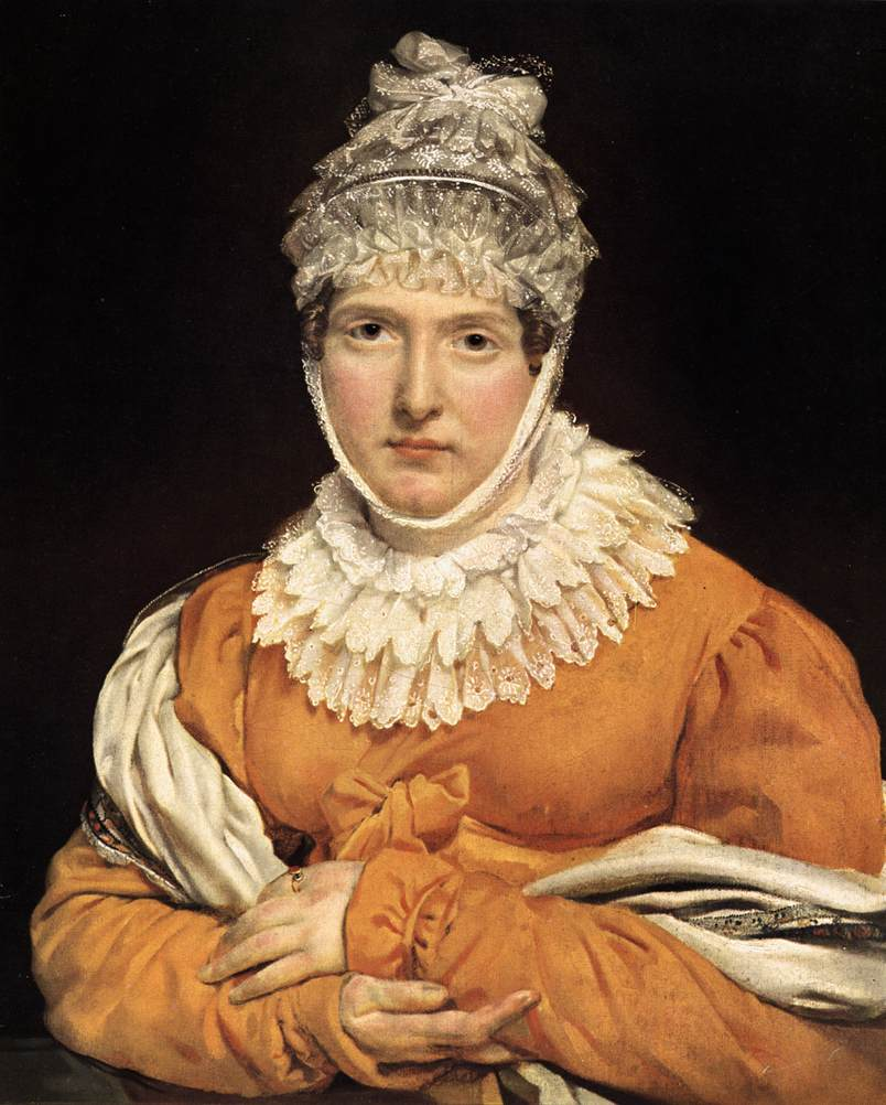 Portrait of Madame Récamier