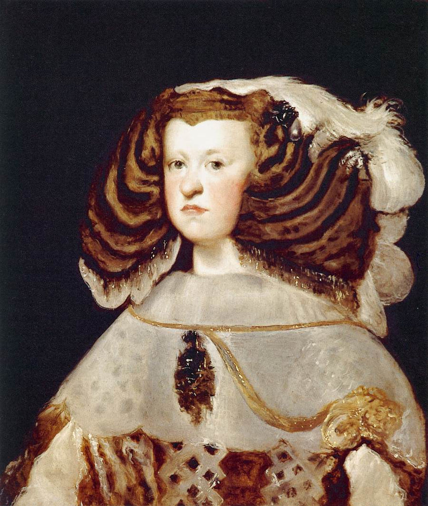 Portrait of Mariana of Austria, Queen of Spain
