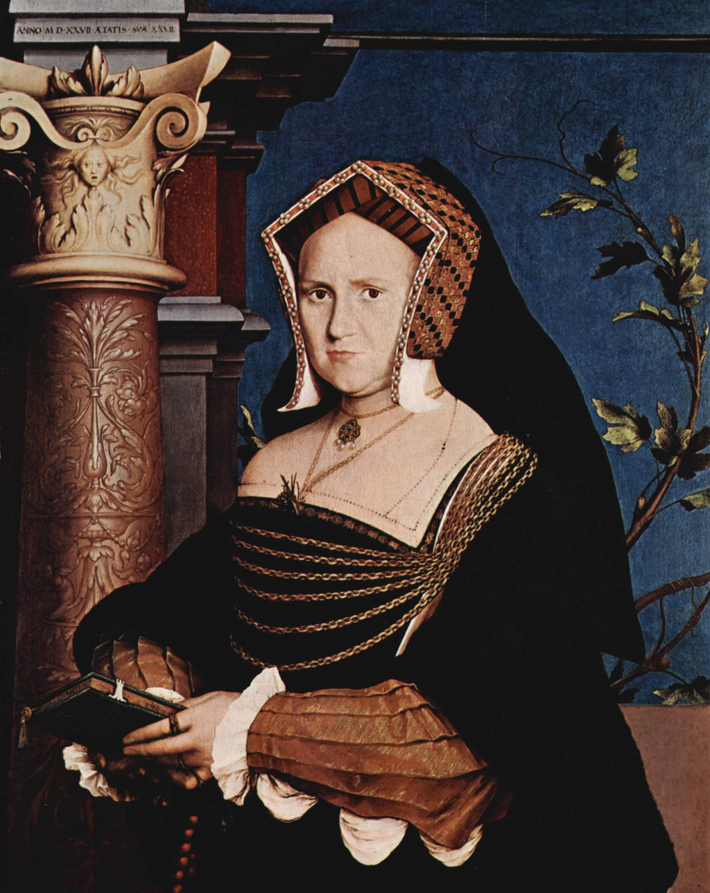 Portrait of Mary Wotton, Lady Guildenford