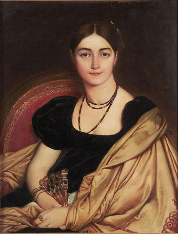 Portrait of Mrs. Devauçay