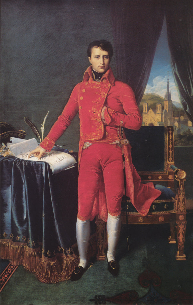 Portrait of Napoléon Bonaparte, The First Council