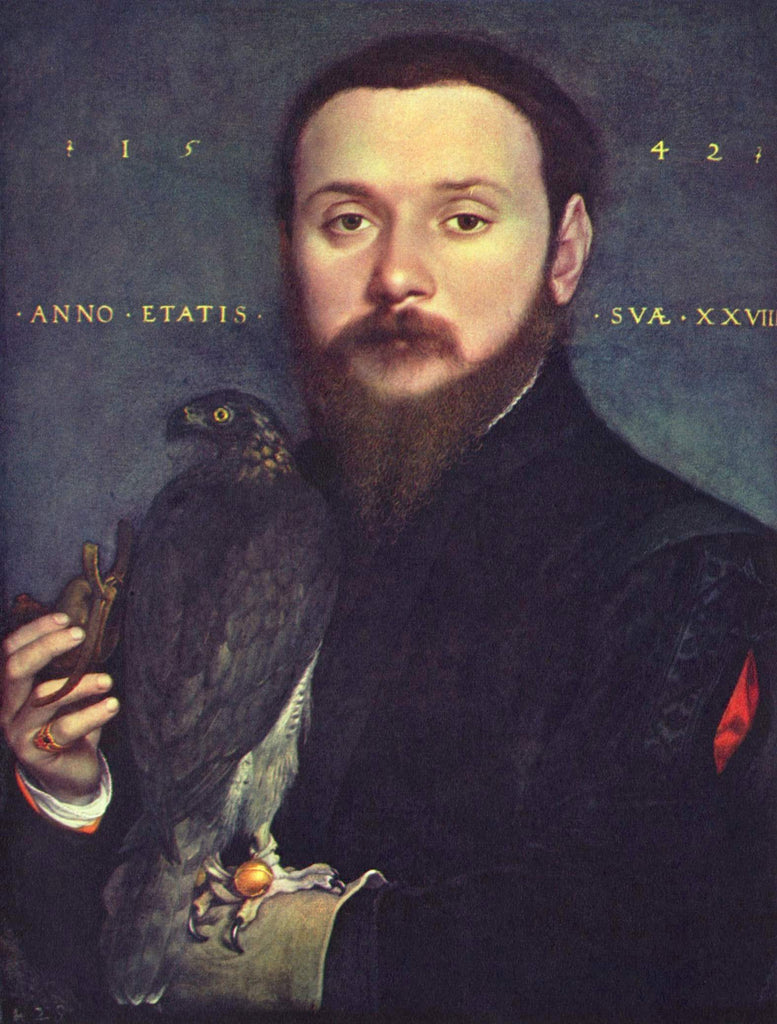 Portrait of Nobleman with a falcon