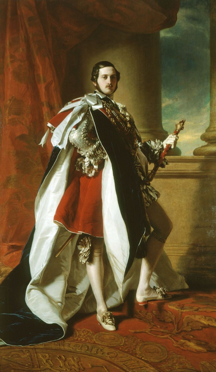 Portrait of Prince Albert