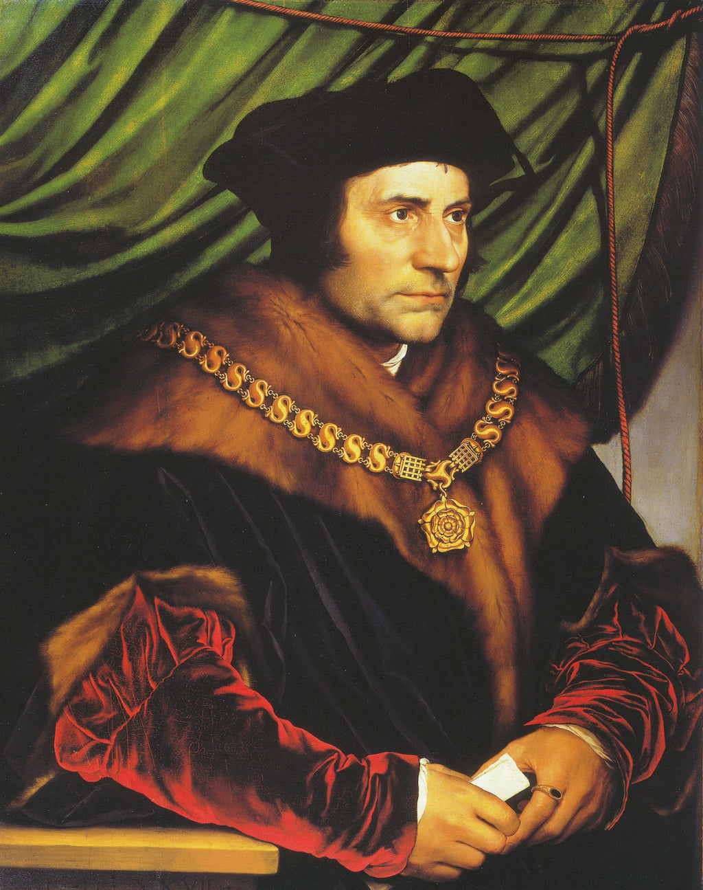 Portrait of Sir Thomas More