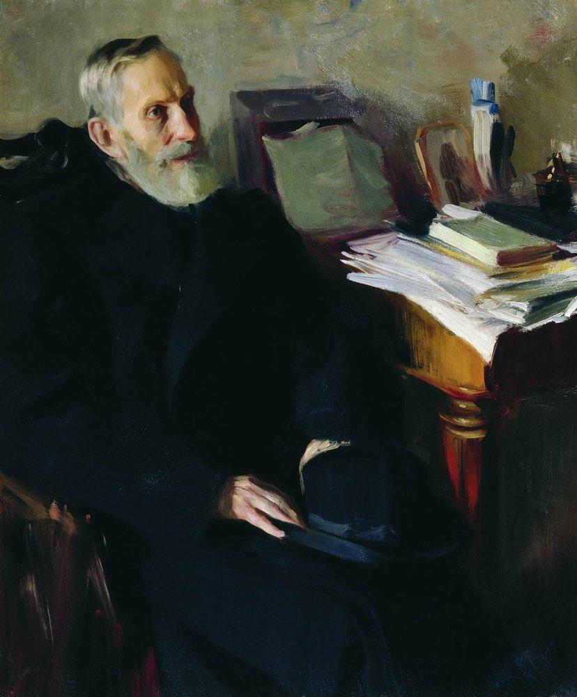 Portrait of Stjepan Nikolsky, uncle of the artist