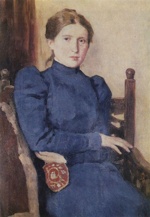 Portrait of T. V. Vasnetsova