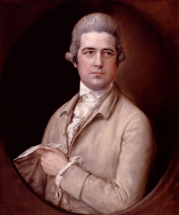 Portrait of Thomas Linley