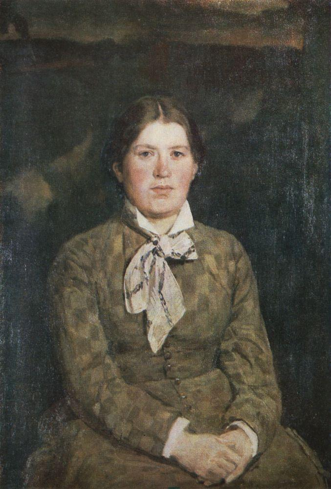 Portrait of V. Vasnetsov the Artist's Wife