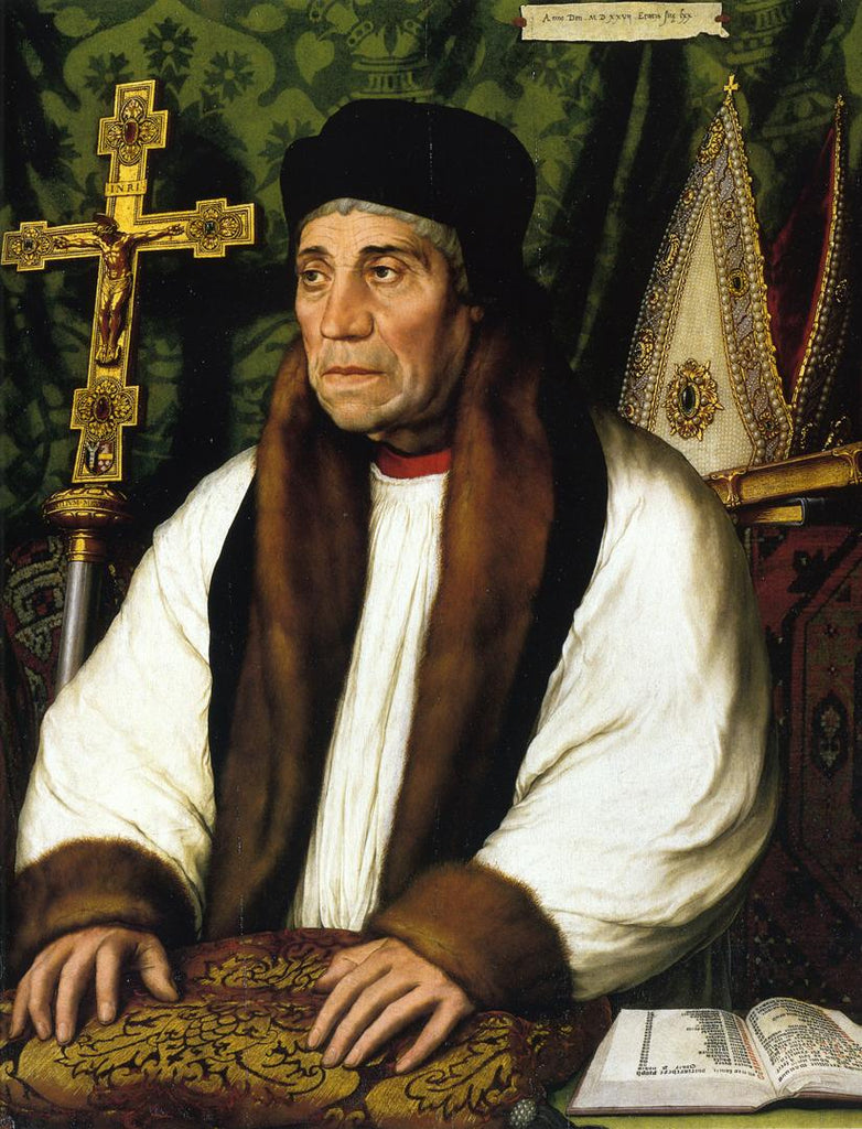 Portrait of William Warham, Archbishop of Canberbury