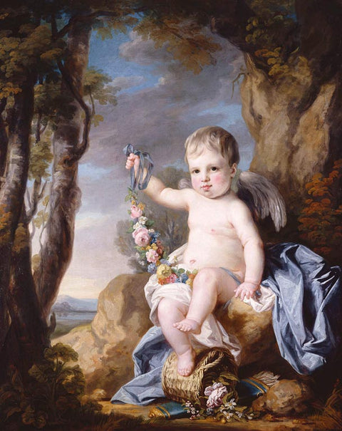 Portrait of a Baby, possibly Prince Edward, later Duke of Kent