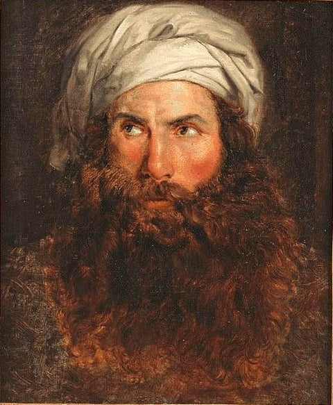 Portrait of a Bearded Man, Possibly Giovanni Belzoni